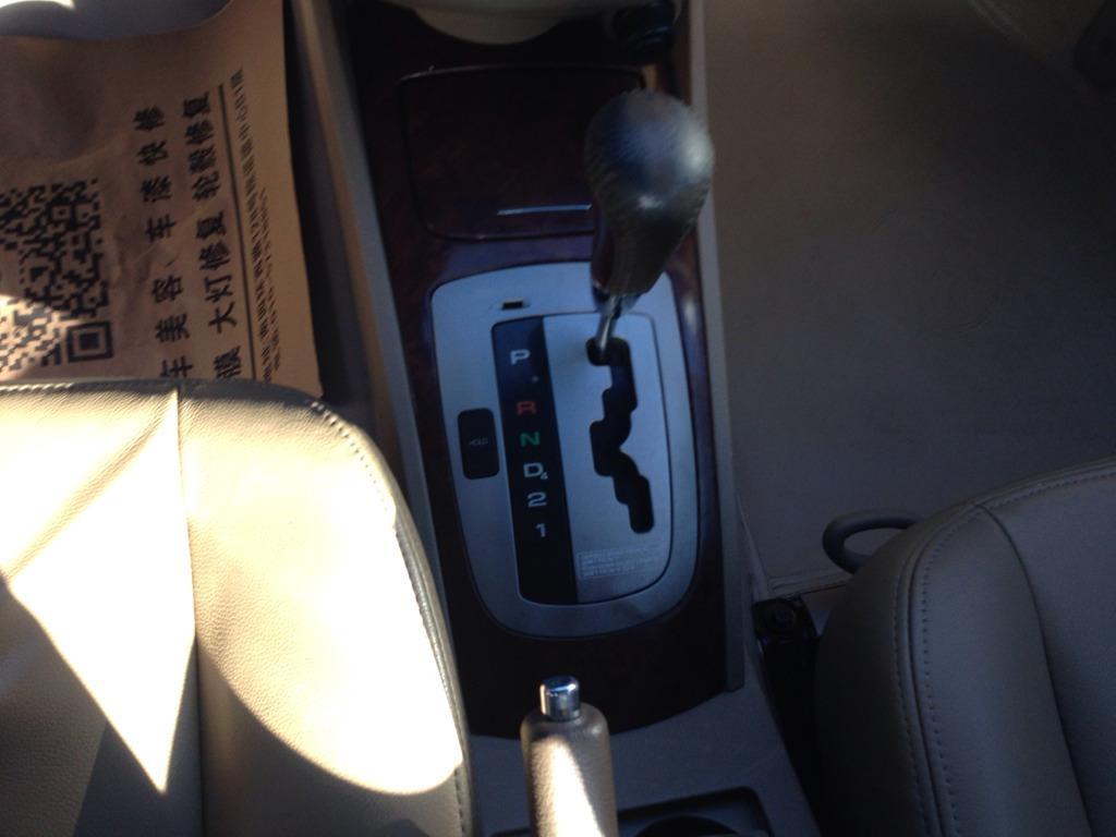 凯越中控台按钮功能图解